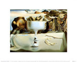Apparition of a Face and Fruit Dish on a Beach, c.1938 Plakater av Salvador Dalí