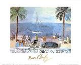 Promenade a Nice Kunst av Raoul Dufy
