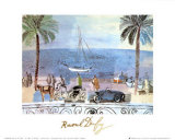Promenade a Nice Poster by Raoul Dufy