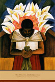 Woman of Tehuantepec Posters av Fernando Diaz