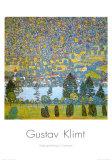 Mountainside in Unterach Arte por Gustav Klimt