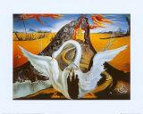Bacchanale Affiches par Salvador Dalí