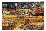 Landscape in St. Remy, c.1898 Posters by Vincent van Gogh