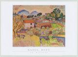 Riviere Poster av Raoul Dufy