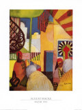 Bazar, 1914 Posters by Auguste Macke