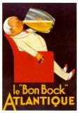 Bon Bock Atlantique Plakater