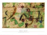 Im Bachschen Stil, 1919 Posters af Paul Klee