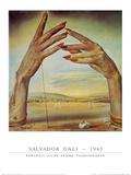 Portrait d'une Femme Passionate, 1945 Plakater av Salvador Dalí