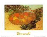 Still Life with Oranges Arte por Vincent van Gogh