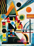 Balance Kunst von Wassily Kandinsky