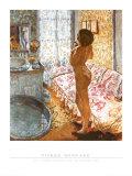Nu a Contre-Jour Ou l'Eau de Cologne Kunst af Pierre Bonnard