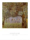 Oberosterreichisches Bauernhaus, 1911-12 Posters af Gustav Klimt