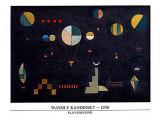 Plat-Profond, 1930 Art by Wassily Kandinsky