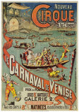 Karneval in Venedig Kunstdruck