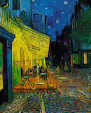 Cafe at Arles, c.1889 Print by Vincent van Gogh