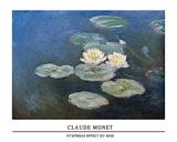 Ninfeas efecto de la tarde, 1897-98 Arte por Claude Monet