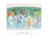 Les mannequins de Poiret aux courses Affiches par Raoul Dufy