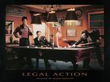 Legal Action Plakat af Chris Consani