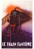 Train Fantome Schilderijen van Paul Colin
