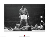 Muhammad Ali v. Sonny Liston Kunstdrucke von  Unknown