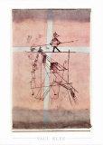 Seiltänzer Kunstdruck von Paul Klee