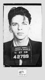 Frank Sinatra – Mugshot Kunstdrucke von  Unknown