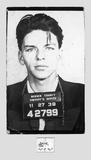 Frank Sinatra – Mugshot Poster by  Unknown