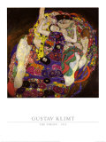 Virgin, 1913 Arte por Gustav Klimt