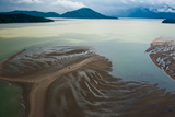 Extreme Currents and Tides in the Fjords Off British Columbia Photographic Print by Cristina Mittermeier