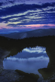 Dawn at American Lake in the White River National Forest Near Aspen Photographic Print by David Hiser