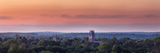 Shapard and Bresslen Towers Rise Over the Forest in Sewanee, Tenn Lámina fotográfica por Alvarez, Stephen