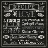 Thoughtful Recipes III Art par  Pela Design