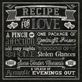 Thoughtful Recipes III Arte por  Pela
