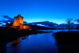 Ross Castle at Dusk in Killarney National Park, Kerry Photographic Print by Chris Hill