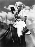 """Jean Harlow. """"Blonde Bombshell"""" 1933, """"Bombshell"""" Directed by Victor Fleming Photographic Print"""
