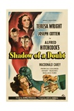 Shadow of a Doubt, 1943, Directed by Alfred Hitchcock Giclee-trykk
