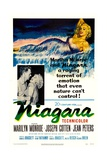 Niagara, 1953, Directed by Henry Hathaway Giclée-tryk