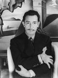 """Salvador Dalí. Off Set From """"Spellbound"""" 1945"""" Impressão fotográfica"""