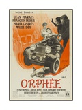 """Orpheus, 1950 """"Orphee"""" Directed by Jean Cocteau Giclée-Druck"""