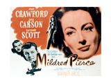 Mildred Pierce, 1945, Directed by Michael Curtiz Impressão giclée