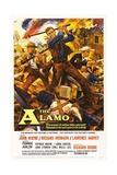 The Alamo, 1960, Directed by John Wayne Giclée-Druck