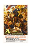 The Alamo, 1960, Directed by John Wayne Impressão giclée