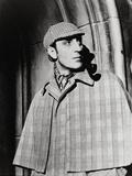 The Adventures of Sherlock Holmes, Basil Rathbone, Directed by Alfred L. Werker, 1939 Fotoprint