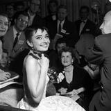 """Audrey Hepburn, 1953. 26th Annual Academy Awards, Best Actress for """"Roman Holiday"""" Photographic Print"""