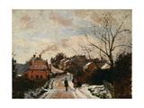 Fox Hill, Upper Norwood, 1870 Reproduction procédé giclée par Camille Pissarro