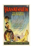 Frankenstein, Directed by James Whale, 1931 Giclee-trykk