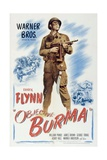 Objective, Burma!, 1945, Directed by Raoul Walsh Giclée-tryk