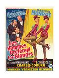 "Howard Hawks' Gentlemen Prefer Blondes, 1953, ""Gentlemen Prefer Blondes"" Directed by Howard Hawks ジクレープリント"