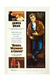 Rebel Without a Cause, 1955, Directed by Nicholas Ray Reproduction procédé giclée