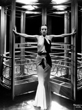 """Joan Crawford. """"Letty Lynton"""" 1932, Directed by Clarence Brown. Custome by Adrian Fotografisk trykk"""
